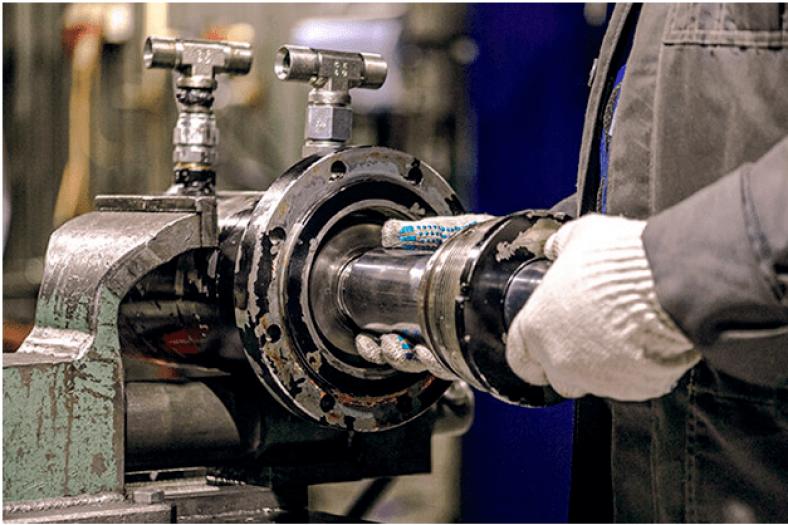 Техническое обслуживание гидравлического оборудования